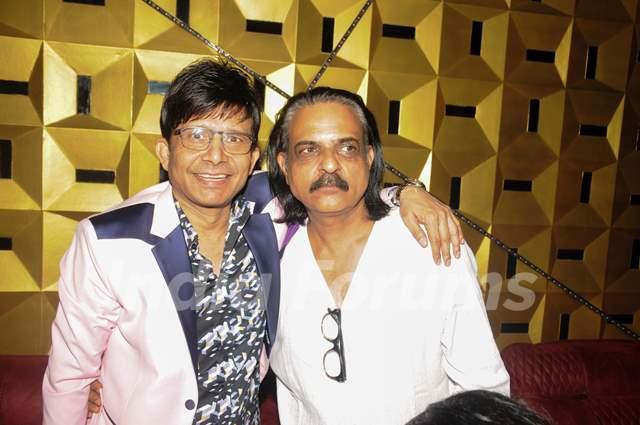 Kamaal R Khan with Ashvini Chaudhary