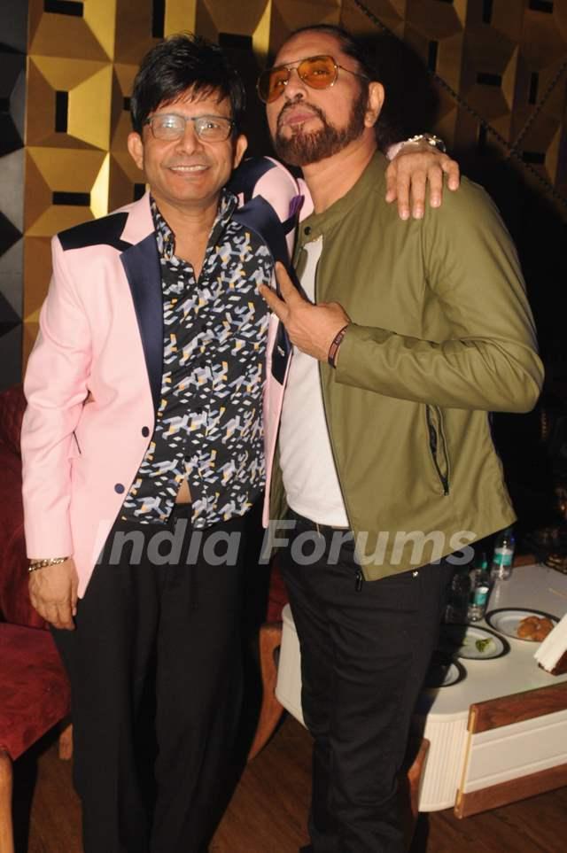 Kamaal R Khan with Arvinder Singh