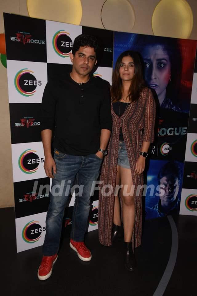 Raj Singh Arora and Pooja Gor