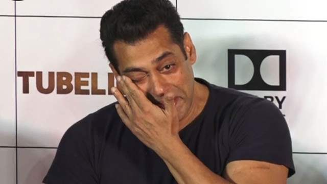 Salman Khan Crying
