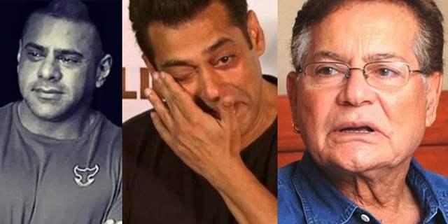 Salim Khan Salman Khan crying