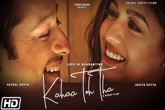Kahaa Toh Tha Poster