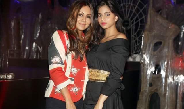 Gauri Khan with Suhana Khan