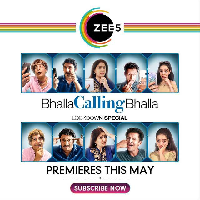 ZEE5 presents 'Bhalla Calling Bhalla', a light family entertainer, shot entirely online