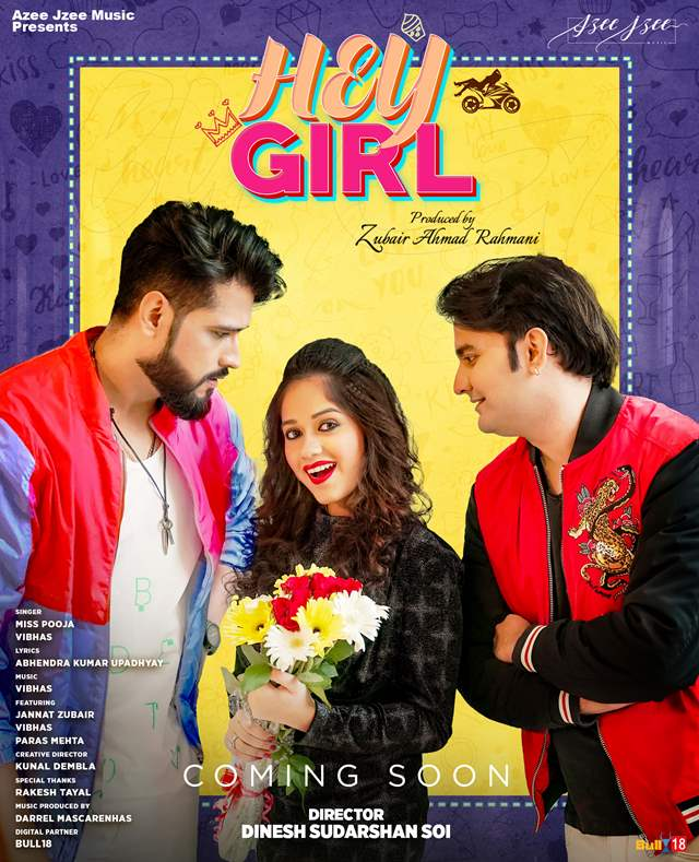 Jannat Zubair Music video