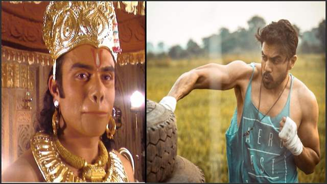 Vikram Mastal as Lord Hanuman