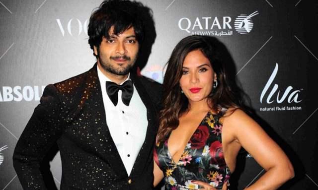 Ali Fazal and Richa Chadda
