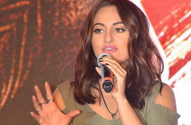 Sonakshi Sinha Speaking