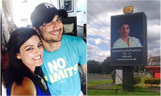 Sushant's Sister Shweta Shares Pictures of Billboards Across Australia