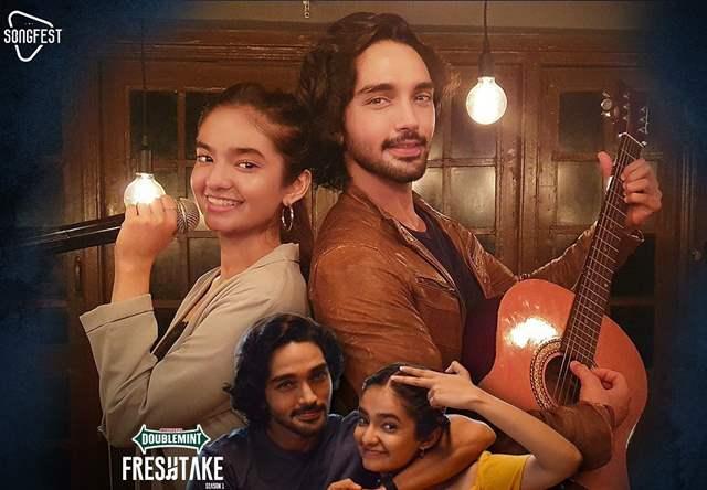 Anushka Sen Harsh Rajput Music Video