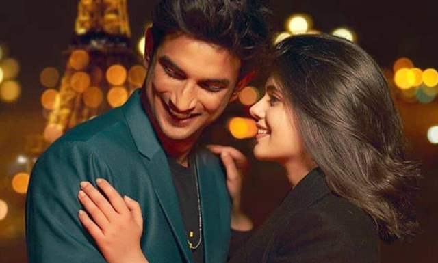 Sushant Singh Rajput and Sanjana Sanghi