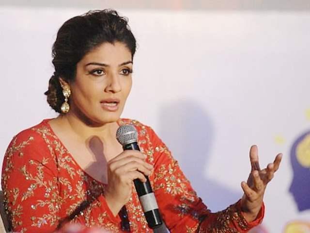 Raveena Tandon Speaking