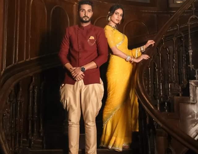 Aneri Vajani and Bhavya Sachdeva