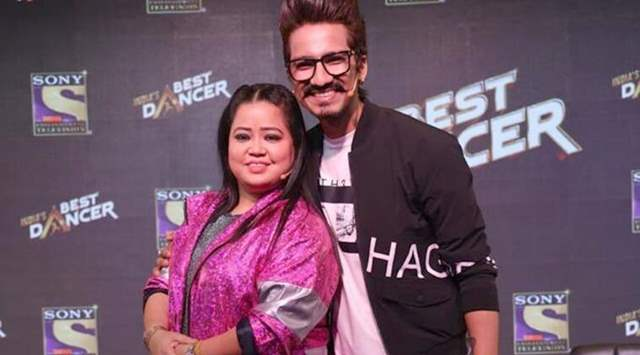 Bharti Singh and Harsh Limbacchyaa