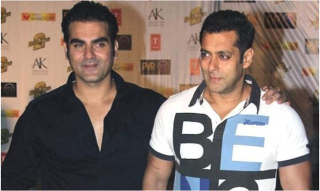 Arbaaz Khan with Salman Khan