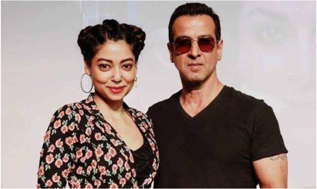 Anangsha Biswas and Ronit Roy