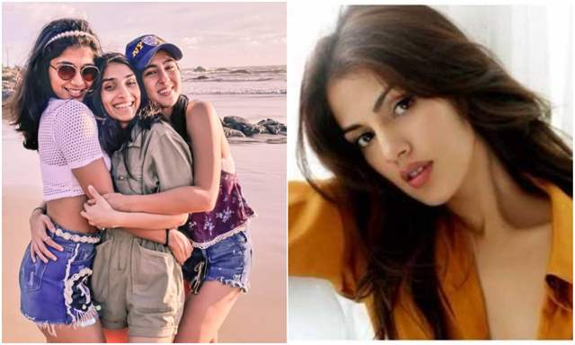 Sara Ali Khan's Goa Pictures go Viral After Rhea Chakraborty Names Actress  in Drug Case
