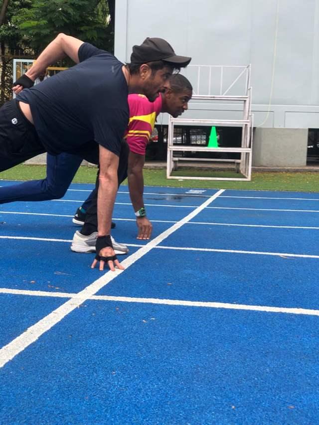 Anil Kapoor Olympian Winner Yohan Blake