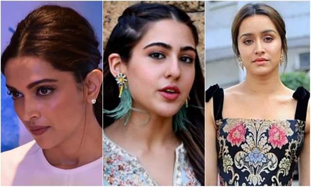 Deepika Padukone, Sara Ali Khan and Shraddha Kapoor