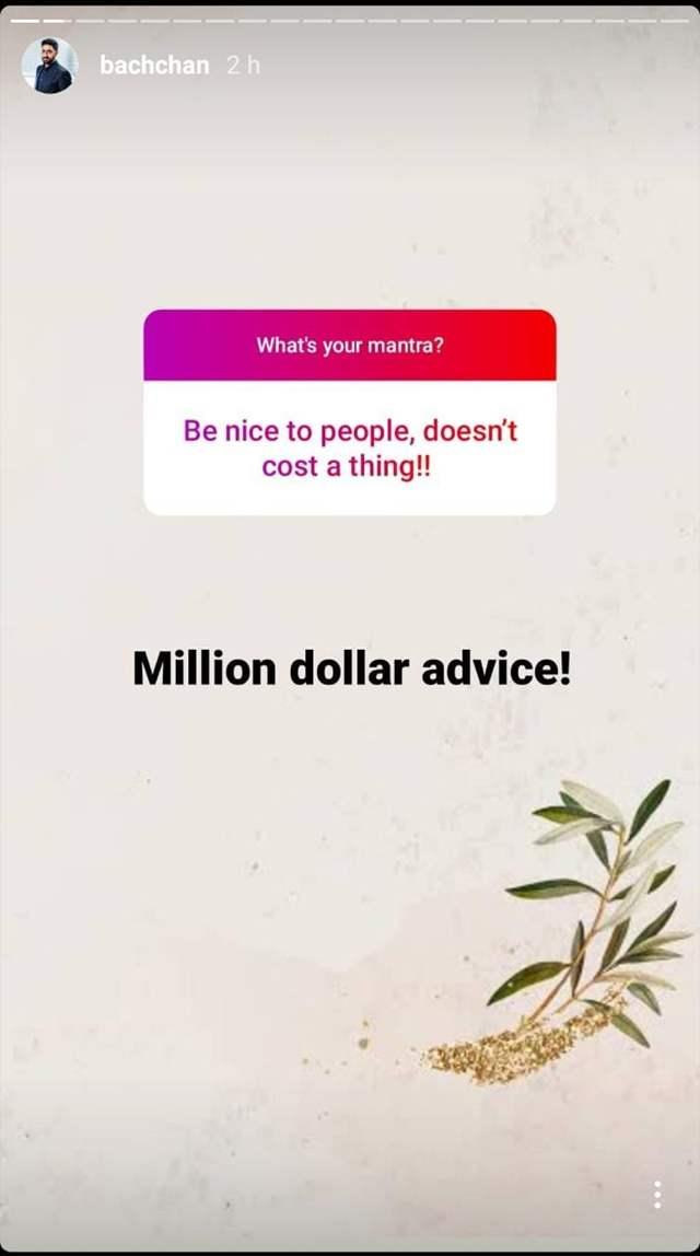 Abhishek Bachchan Instagram
