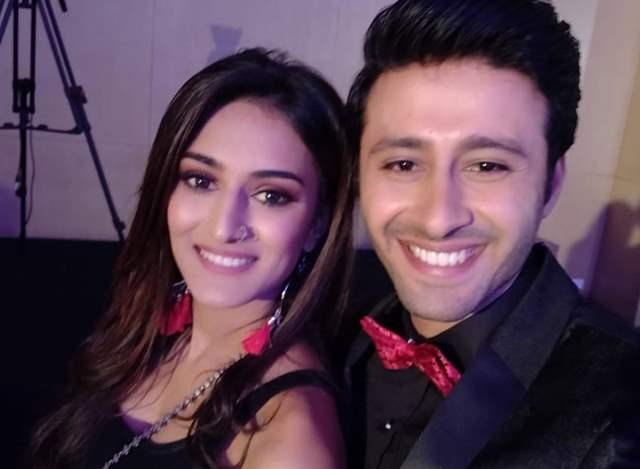 Karan Arora and Erica Fernandes
