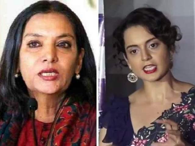 Shabana Azmi slams Kangana Ranaut