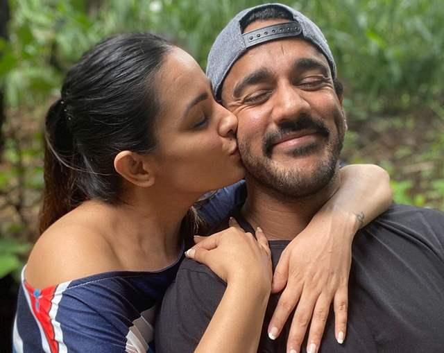 Anita Hassanandani and Rohit Reddy