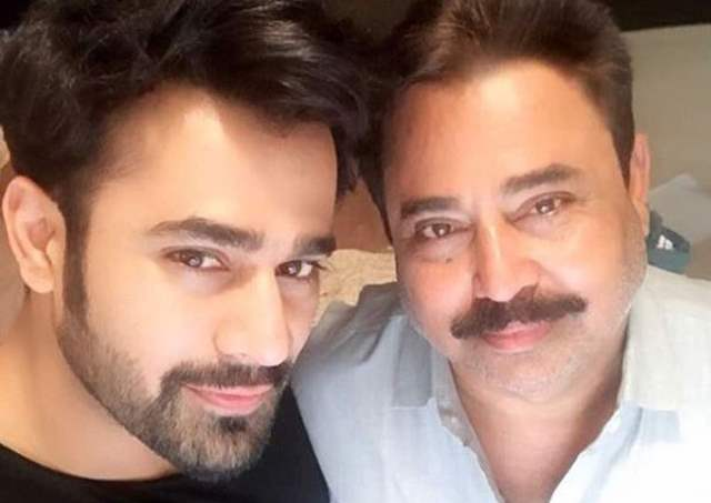 Pearl V Puri with father
