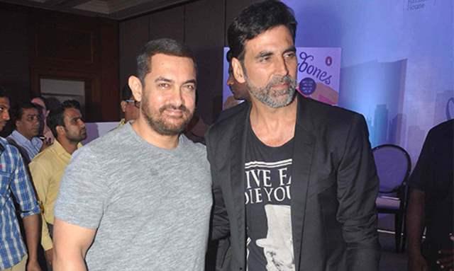 Aamir Khan and Akshay Kumar
