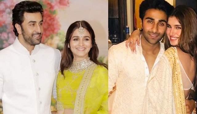 Ranbir Kapoor Alia Bhatt Aadar Jain Tara Sutaria
