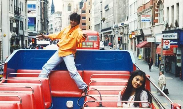 Shah Rukh Khan and Kajol's statue