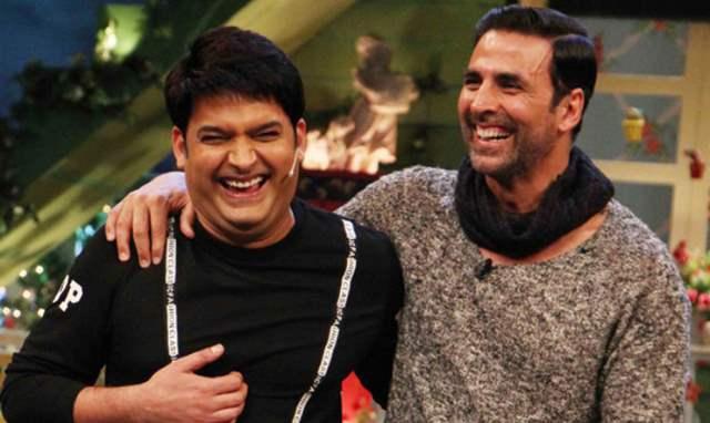 Kapil Sharma and Akshay Kumar