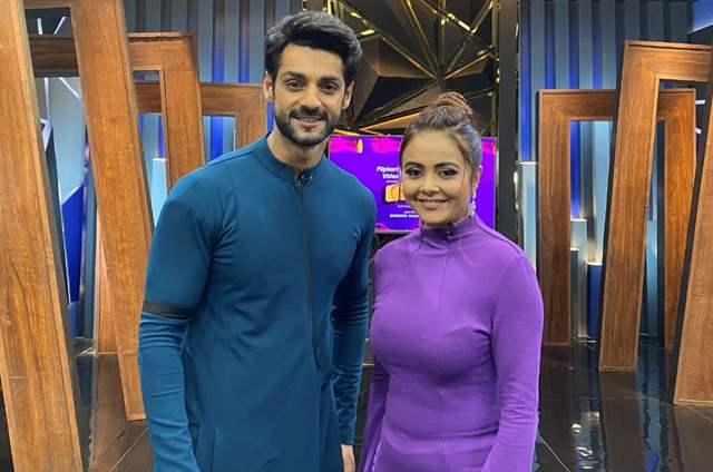 Devoleena Bhattacharjee and Karan Wahi