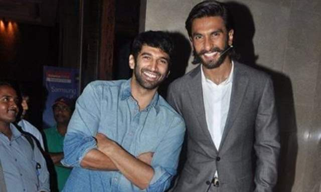 Aditya Roy Kapur and Ranveer Singh