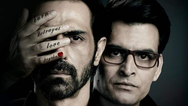 Nail Polish Poster: Arjun Rampal and Manav Kaul