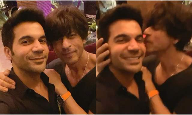 Rajkummar Rao and Shah Rukh Khan
