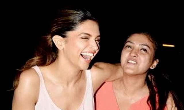 Deepika Padukone and Karishma Prakash