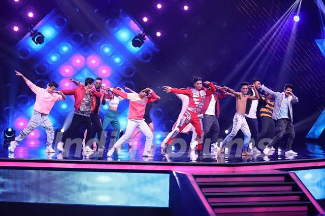 Remo & Team grace the India's Best Dancer stage as guests!