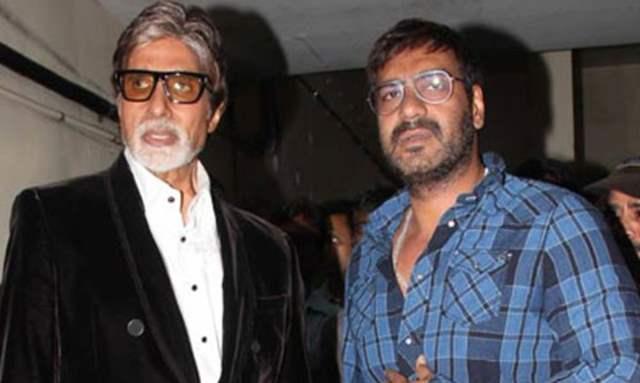 Amitabh Bachchan and Ajay Devgn