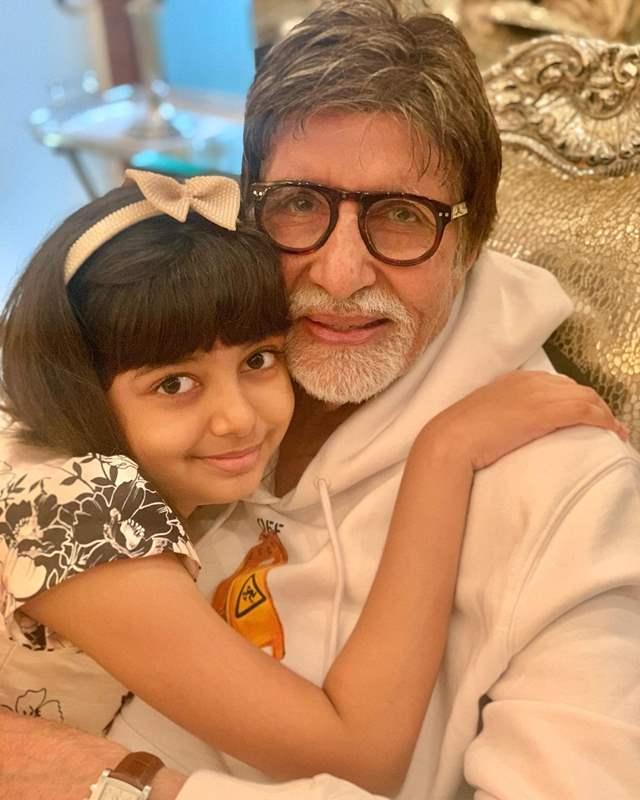 Amitabh Bachchan Aaradhya Bachchan