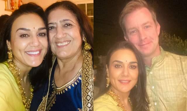 Priety Zinta Diwali Celebration