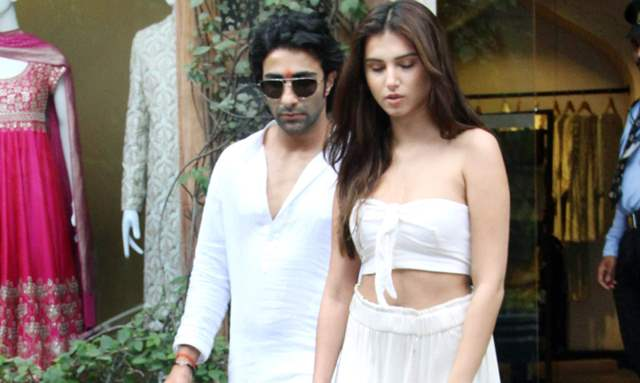 Aadar Jain and Tara Sutaria