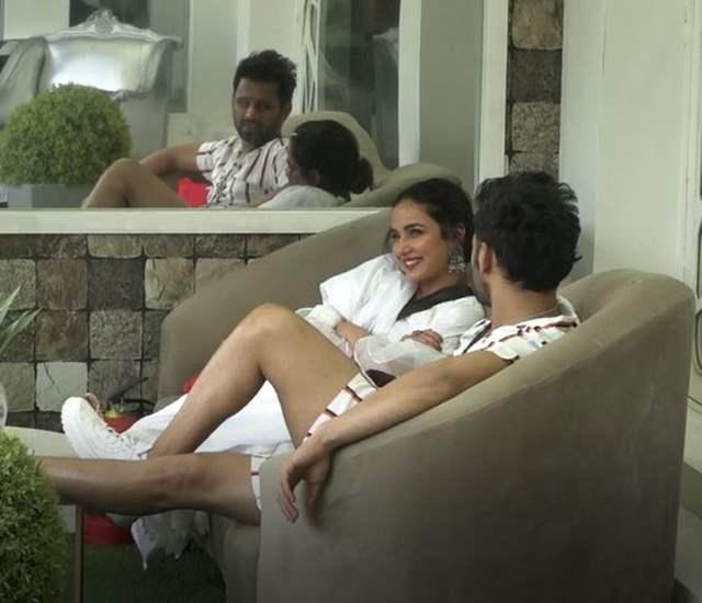 Jasmin Bhasin and Rahul Vaidya