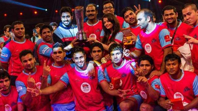 Abhishek Bachchan's Jaipur Pink Panthers