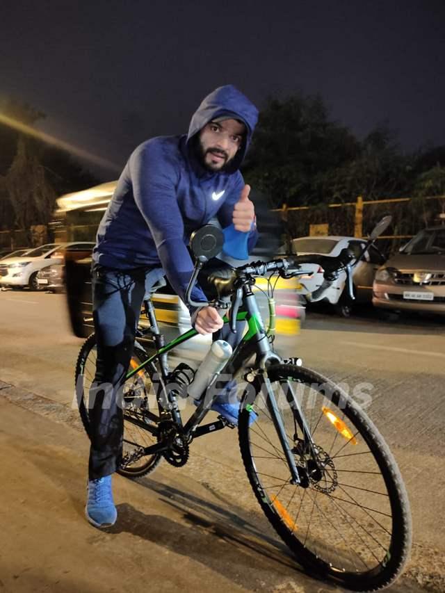 Karan Patel snapped around the town!