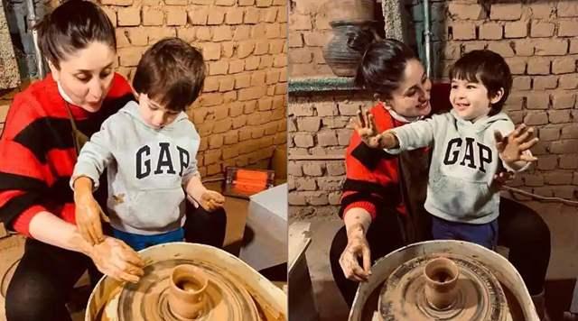 Kareena Kapoor Khan Taimur Ali Khan Pottery