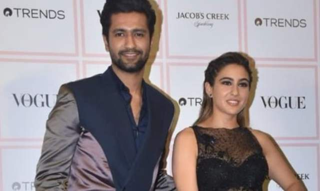 Vicky Kaushal and Sara Ali Khan
