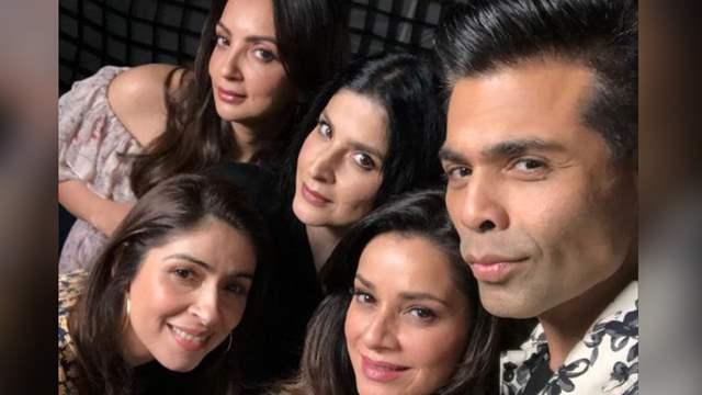 Fabulous Lives of Bollywood Wives Karan Johar