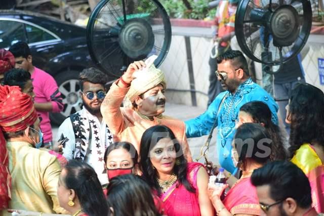 Inside Aditya Narayan's wedding
