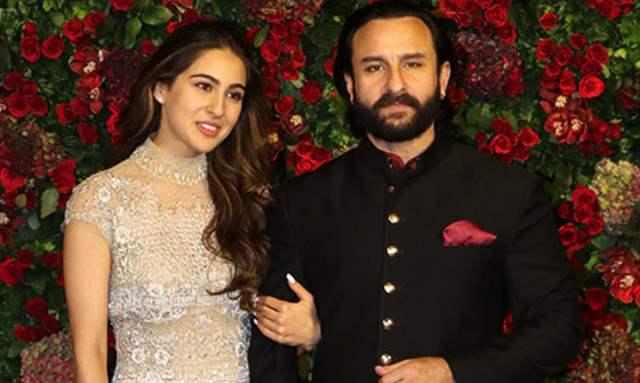 Sara Ali khan and Saif Ali Khan